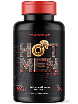 Hot Men Caps Embalagem