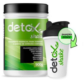 Detox Shake embalagem