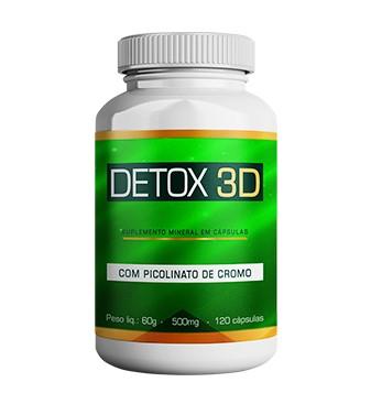 Detox 3D embalagem